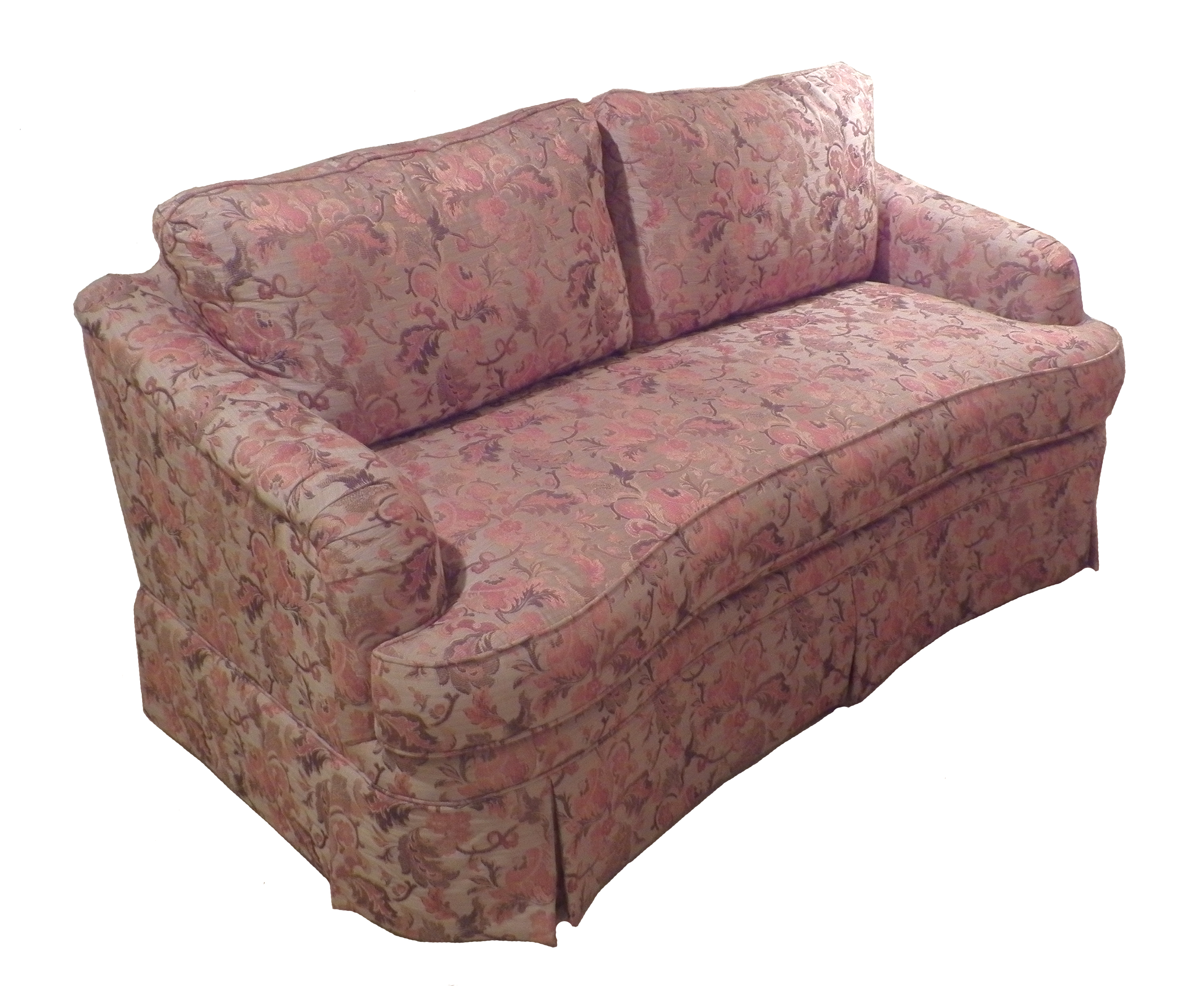 Charming Hekman Woodmark Short Sofa Larger Image
