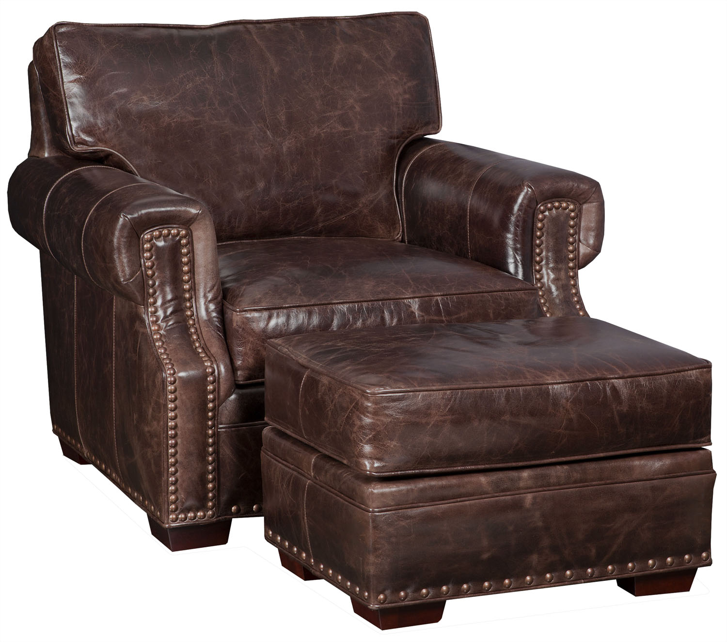Bradington Young Chair And Ottoman 9901206 Grindstaff S
