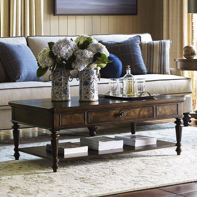 Barrington Mahogany Textured Fiberglass Door: Cocktail Tables : Grindstaff's