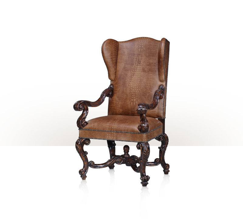 Brilliant Theodore Alexander Arm Chair 0215042 Grindstaffs Short Links Chair Design For Home Short Linksinfo