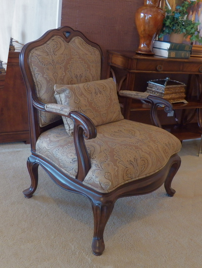 Beautiful Thomasville Arm Chair Larger Image